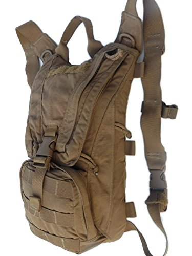 USMC Military Eagle Industries FILBE Coyote Brown Marine HYDRATION CARRIER Backpack Bag Pack Assembly Needs 3 L 100 oz Bladder by US Government GI USGI NSN 8465-01-600-7882 ()