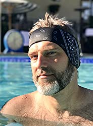 The Good Ears Swimming Headband for Adults or Older Kids - Ear Band Swim Protection from Swimmer Ears, Infecti