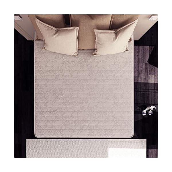 Baldiflex Easy 2.0 Memory Foam Materasso Memoria, Poliuretano, Bianco, 120 x 190 x 22 cm 4 spesavip