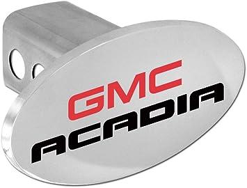 Amazon Com Gmc Acadia Metal Trailer Hitch Cover Emblem Plug 2