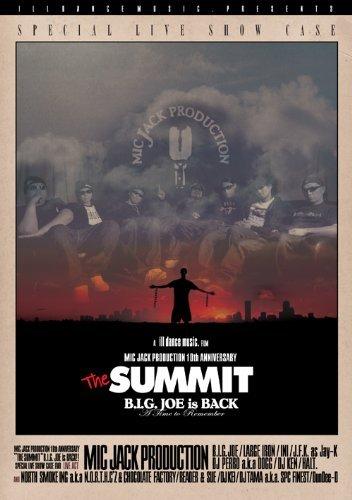 MIC JACK PRODUCTION 10TH ANNIVERSARY THE SUMMIT B.I.G. JOE IS BACK!!! [DVD] ()