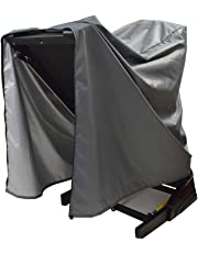 Treadmill Cover, Folding Running Machine Protective Cover Dustproof Waterproof Cover and Water-Resistant Fitness Equipment Fabric Ideal for Indoor Or Outdoor Use (Gray)