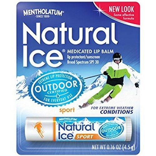 Natural Ice Sport Lipbalm SPF 30 (Pack of 9)