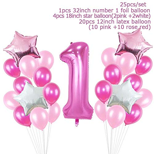 Best Quality - Party DIY Decorations - Set Baby Shower Baby Boy Girl Foil Balloon its a boy girl Baby Shower Balloons Kids 1st Birthday Party Decorations supplies - by Viet JK - 1 PCs -