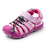 Nova Toddler Little Boys Summer Sandals NF Boy NFBS124 Fuchsia 2