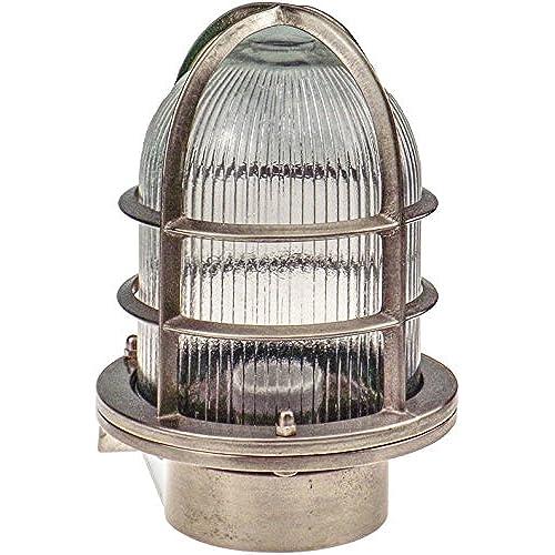 Fanari Applique Dextérieur Hublot Lampe Ovale En Laiton