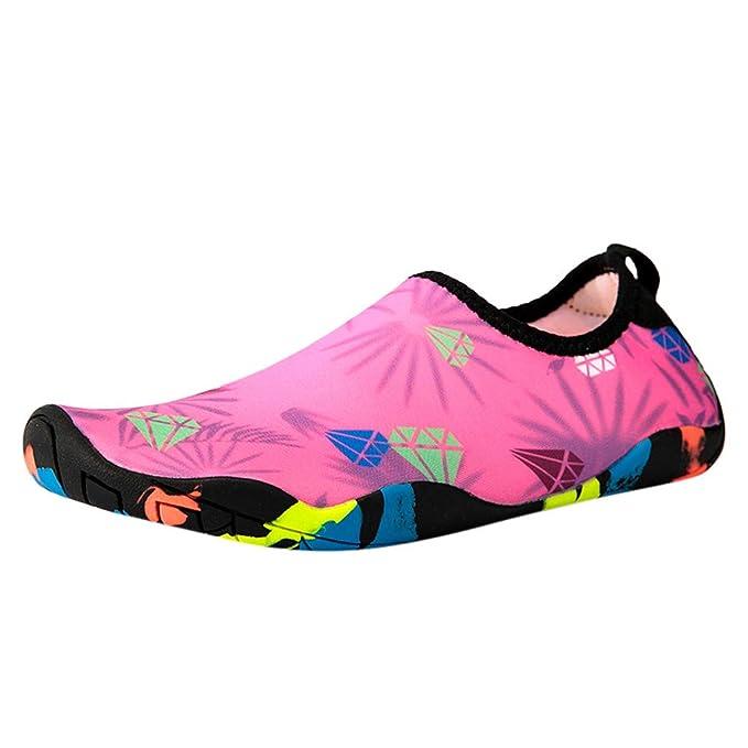 Kinlene Zapatillas de Playa de Verano para Mujeres ...