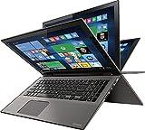"Toshiba - Satellite Radius 2-in-1 15.6"" 4K Ultra HD Touch-Screen Laptop - Intel"