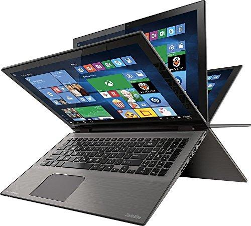 "Toshiba - Satellite Radius 2-in-1 15.6"" 4K Ultra HD Touch-Screen Laptop - Intel Core i7 - 12GB Memory - 1TB Hard..."