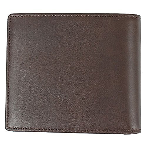 Boss Wallet Dark Brown Dark Hugo OS Bifold Bardio Men's Brown Leather 7Uwwndqp1
