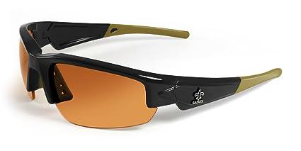 5fbd1ae0205a Amazon.com : NFL New Orleans Saints Dynasty Sunglasses, Black/Gold ...