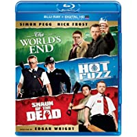 The World's End / Hot Fuzz / Shaun of the Dead Trilogy on Blu-ray + Ultraviolet