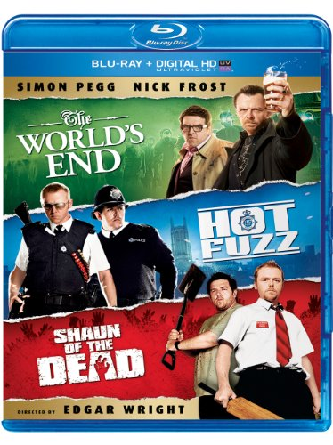 The World's End / Hot Fuzz / Shaun of the Dead Trilogy [Blu-ray] -