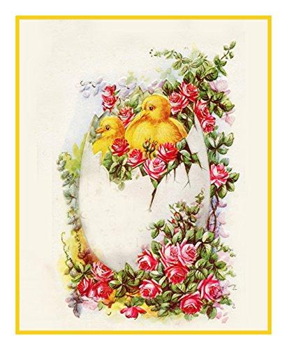 Vintage Rose Cross Stitch - 7