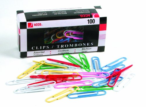 acco-vinyl-coated-coloured-jumbo-paper-clips-2-inch-size-assorted-colours-box-of-100-clips-505057252