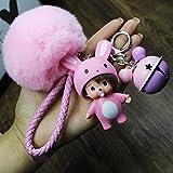Best Doll Monchichi - Key Chain Women for car Keys Monchichi Keychain Review