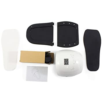 48W De Alta Potencia Mini Lámpara De Uñas LED Smart Secador De Detección Automática Gel De ...