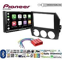 Volunteer Audio Pioneer AVH-W4400NEX Double Din Radio Install Kit with Wireless Apple CarPlay, Android Auto, Bluetooth Fits 2006-2008 Mazda MX-5