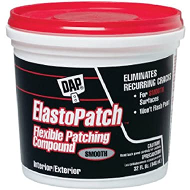 Dap 12278 Elastomeric Patch and Caulking Compound, 1-Quart Tub though