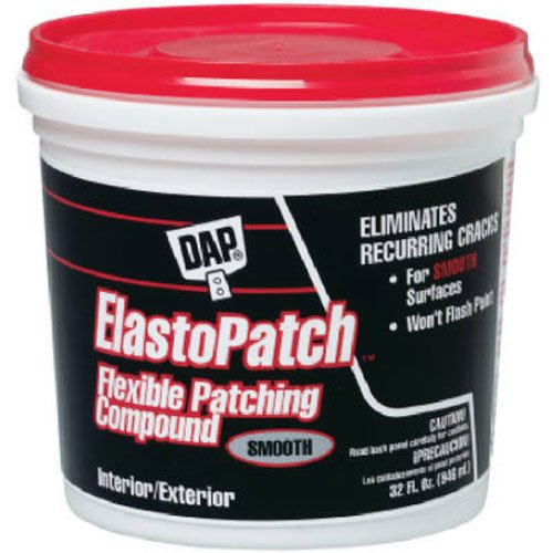 Dap 12278 Elastomeric Patch and Caulking Compound, 1-Quart Tub