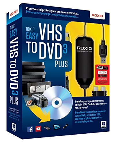 Roxio Easy VHS to DVD 3 Plus Video Converter for PC ()