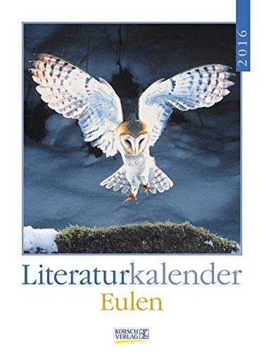 Eulen 2016: Literatur-Wochenkalender