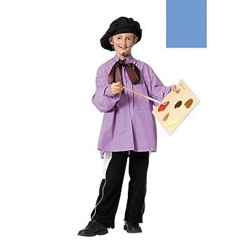 Disfraz pintor Picasso niño. Talla 5/6 años.: Amazon.es ...