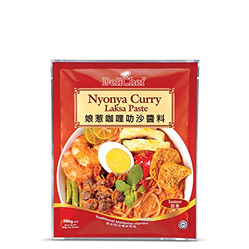 Cosway Delichef Nyonya Curry Laksa Paste ( 1 Pack )