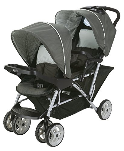 Double Stroller Swivel Front Wheel - 4