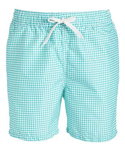 - Kanu Surf Men's Monaco Swim Trunks (Regular & Extended Sizes), Green, XX-Large