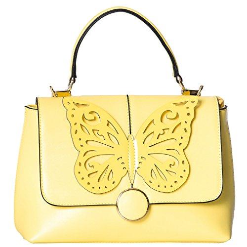 Dancing Days Handtasche - Papilio Gelb