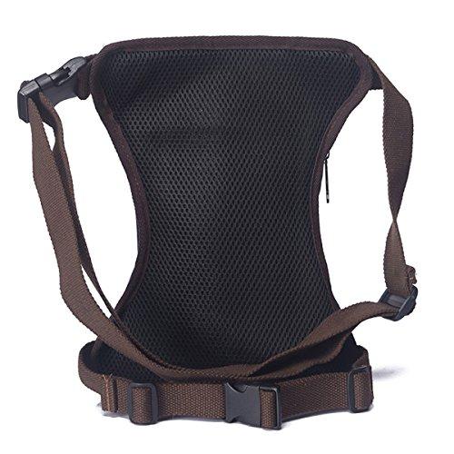 Amazon.com   Sunmig Men Multi-Purpose Leg Bag Military Drop Bag Outdoor  Waist Bag (Green Black)   Sports   Outdoors 3715597b0f