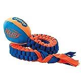 Nerf Dog 3474 Vortex Chain Tug, Pet Squeak Toy