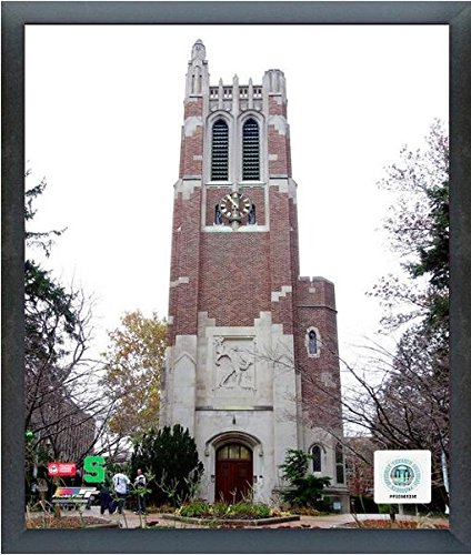 Beaumont Tower Michigan State Spartans NCAA Photo (Size: 17