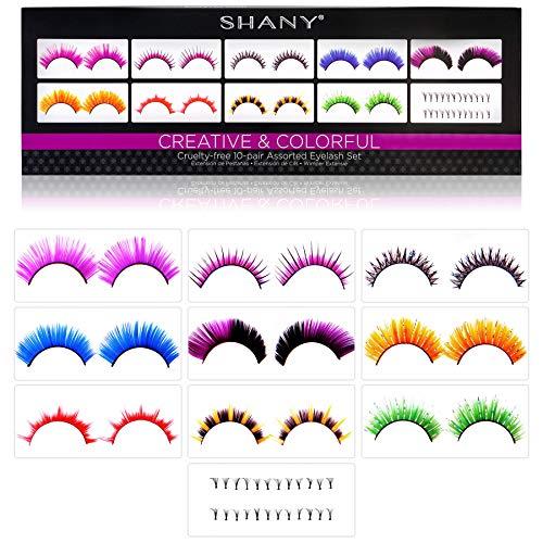 SHANY Cosmetics Eyelash Extend Assorted Reusable Eyelashes  Color Frenzy, 3.6 Ounce]()