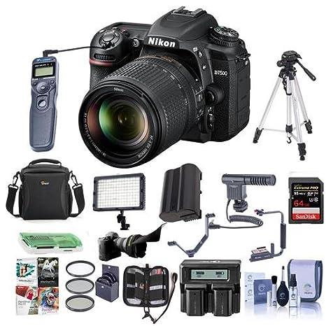 Amazon.com: Nikon D7500 DSLR con lente AF-S DX Nikkor 0.709 ...