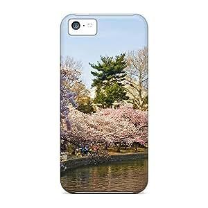 High Grade DrunkLove Flexible Tpu Case For Iphone 5c - Japan - Sakura - Cherry Blossom