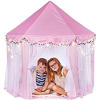 Campela Pink Princess Tent Teepee Castle Girls Large...