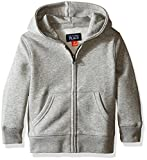 The Children's Place Baby Boys' Toddler Gym Uniform Hoodie, Smoke, 5T