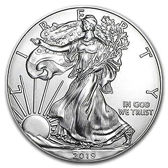 Lot of 2-2015 $1 1oz Silver American Eagle BU