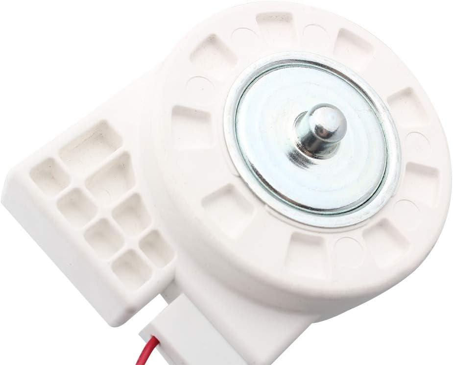 For Midea Refrigerator BCD-330WTV Freezing Fan Motor ZWF-02-4 Universal Type 12V