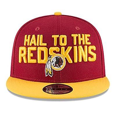 New Era Washington Redskins 2018 NFL Draft Spotlight Snapback 9Fifty Adjustable Hat - Burgundy from New Era