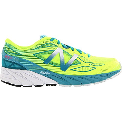 NEW BALANCE W870B V4Textile/Synthetic–yb4Yellow/Blue, multicolore