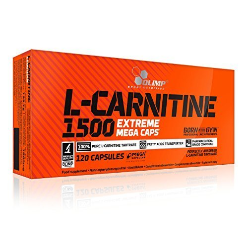 Olimp L-Carnitine 1500 Extreme Mega Capsules - Capsules by OLIMP by Olimp Labs