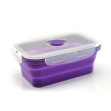 nouveau concept 1c6df 2aa4f Boîte hermétique alimentaire en silicone - rétractable ...