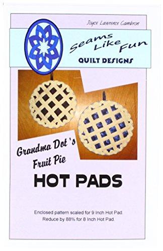 Dyed Tea Muslin (Seam Fix SLFAP1001 Like Fun Design Grandma Dot's Fruit Pie Ptrn)
