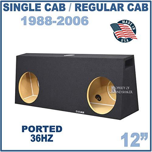 Fits Regular-Cab/Single cab Trucks 12