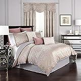 Beautyrest 16316BEDDQUEORC La Salle Comforter Set,Orchid,Queen