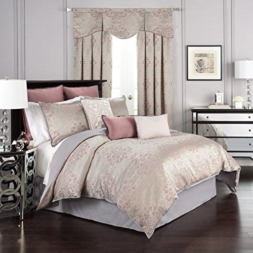 Beautyrest La Salle Comforter Set, Queen, Orchid (Set Comforter Tahari Queen)