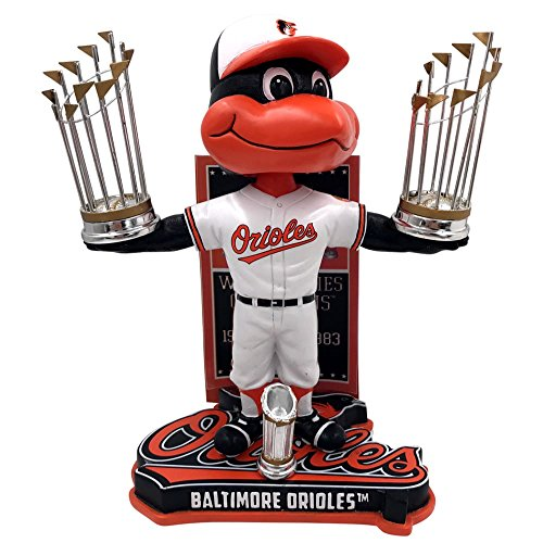 - Forever Collectibles Baltimore Orioles MLB World Series Champions Series - Numbered to 1,000 Bobblehead